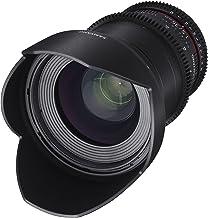 Samyang SYDS35M-MFT VDSLR II 35mm T1.5 Wide-Angle Cine Lens for Olympus/Panasonic Micro 4/3 Cameras