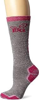 Women's Wool Blend Tall Boot Socks (1-Pair), Grey, Medium