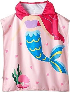Baby Towel Kid Cartoon Printed Hooded Bath Towel Child Cape Cute Beach Towel for Children Cloak Cosy Towel Ocean World 3 t...