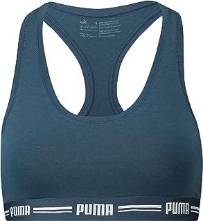 PUMA Women's Iconic Racer Back Bra 1p Underwear