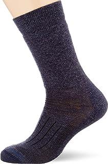 Icebreaker Merino Men's Hike Medium Crew Socks, Medium, Fathom HTHR