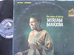 MIRIAM MAKEBA - THE VOICE OF AFRICA - RCA STEREO
