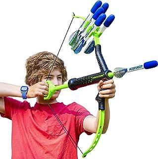 FAUX BOW - Shoots Over 100 Feet - Foam Bow & Arrow Archery Set (Lizardite)