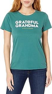 LIFE IS GOOD Women's Holiday Crusher T-Shirt Grateful Grandma