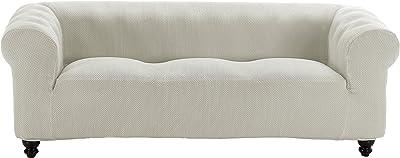Eysa Ulises - Funda de sofá elástica, 3 plazas, Color Crudo ...