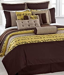 Fashion Street 11-Piece Khloe Comforter Set, California King