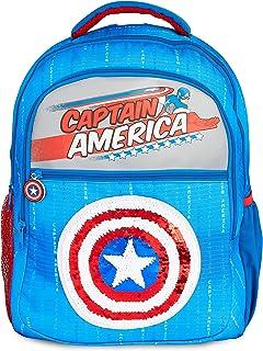 Mochilas Escolares Con Escudo Capitan America, Mochila Escolar Con Diseño de Lentejuelas, Mochila Infantil Para Colegio Deportes Viajes, Regalos Para Niños Niñas Adolescentes