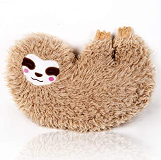 BONI 16 inch Sloths Stuffed Animal Sloth Pillow Fuzzy Pillow Female Sloths Plush for Decorate Gifts for Friends