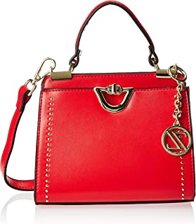 Zeneve London Satchels Bag For Women, Red, 119781500026