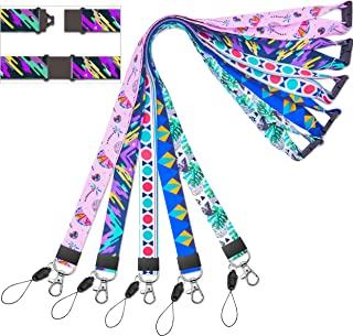 lanyards for id badge holder Kid Lanyard for kids Hall Pass Lanyards Cruise Lanyard for women Keys Men id Badges Holder Lanyards for Ship Card Breakaway Safety Quick Release Office Neck LanyardWide 2c
