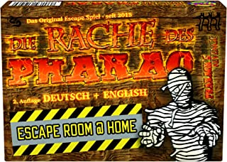 Pharaoh's Revenge Escape Room @ Home