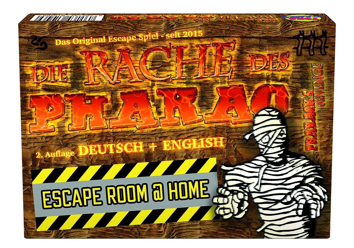 Pharaoh's Revenge Escape Room @ Home