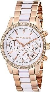 Michael Kors Women's Ritz Two-Tone Chronograph Watch