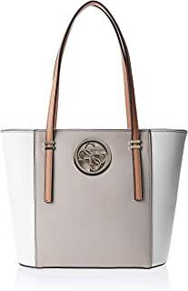Guess Womens Tote Bag, Natural Multi - NG718622