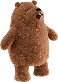 "GUND We Bare Bears Standing Grizz Stuffed Plush Bear, 11"""