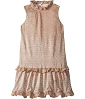 Kate Spade New York Kids - Metallic Ruffle Dress (Toddler/Little Kids)