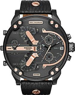 DZ7350 Mr Daddy 2.0 Leather Mens Watch - Black Dial