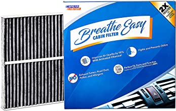 Spearhead Premium Breathe Easy Cabin Filter, Up to 25% Longer Life w/Activated Carbon (BE-743)