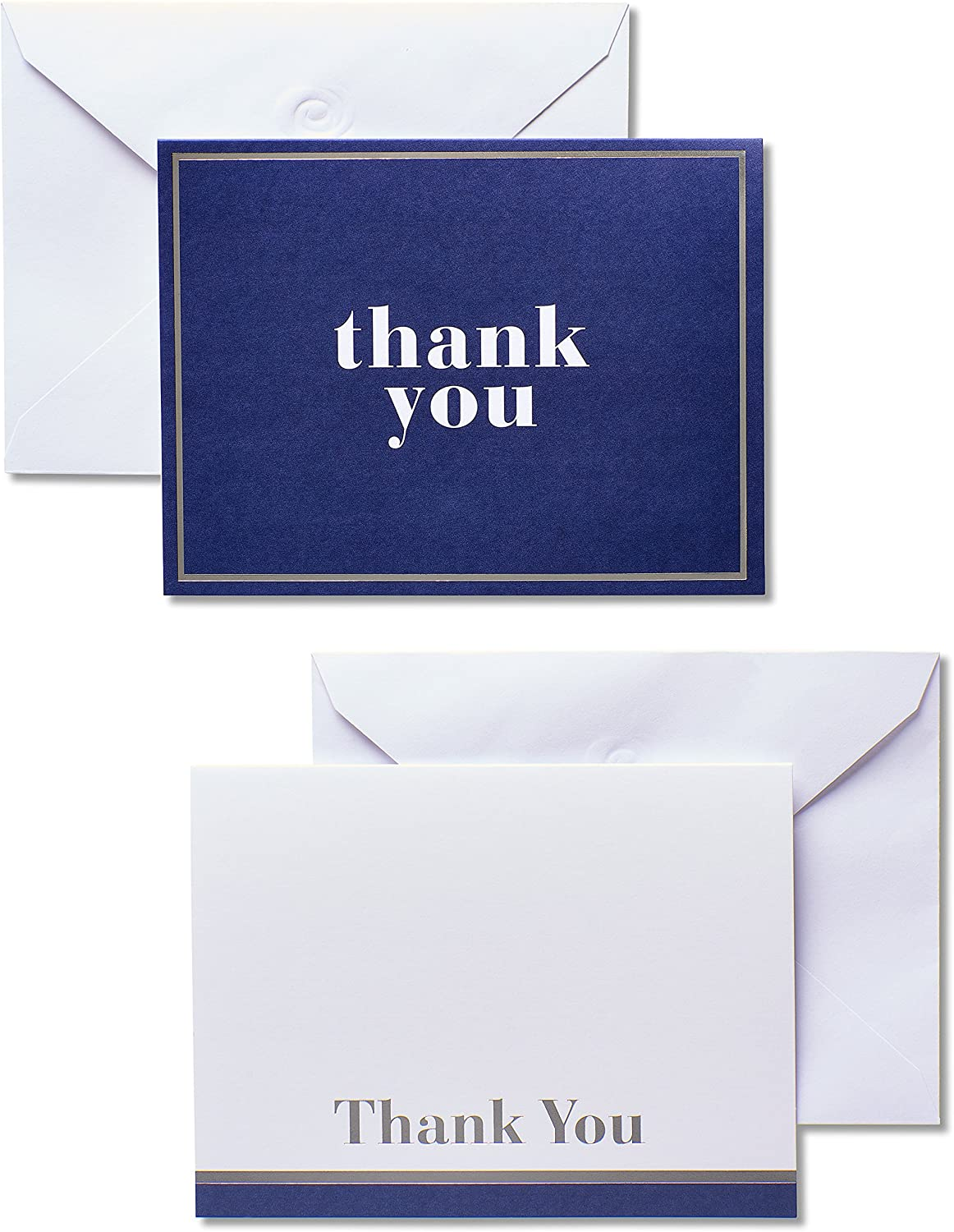 American Greetings unopened pack 6 Thank-you cards with 3 unique designs
