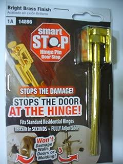 Smart Stop Hinge Pin Door Stop Bright Brass