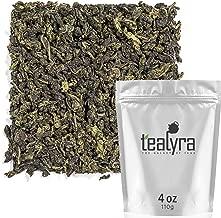 Tealyra - Tie Guan Yin - Oolong Loose Leaf Tea - Iron Goddess of Mercy - Organically Grown - Healing Properties - Best Chinese Oolong - Fresh Award Winning - Caffeine Medium - 110g (4-ounce)
