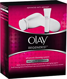Olay Regenerist Advanced Anti-Ageing Advanced Cleansing System(Device + brush head + 20ml cleanser)