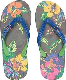 POLO RALPH LAUREN Men's WHTLBURY III Flip-Flop,Floral