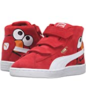 Puma Kids - Suede Mid Sesame Elmo V PS (Little Kid/Big Kid)