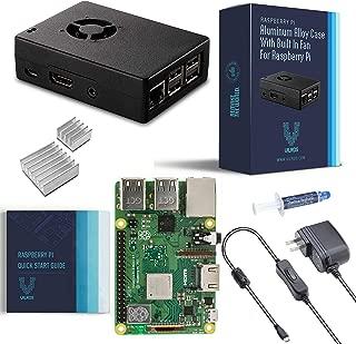 Vilros Raspberry Pi 3 Model B+ (Plus) Basic Starter Kit with Fan Cooled Aluminum Alloy Case