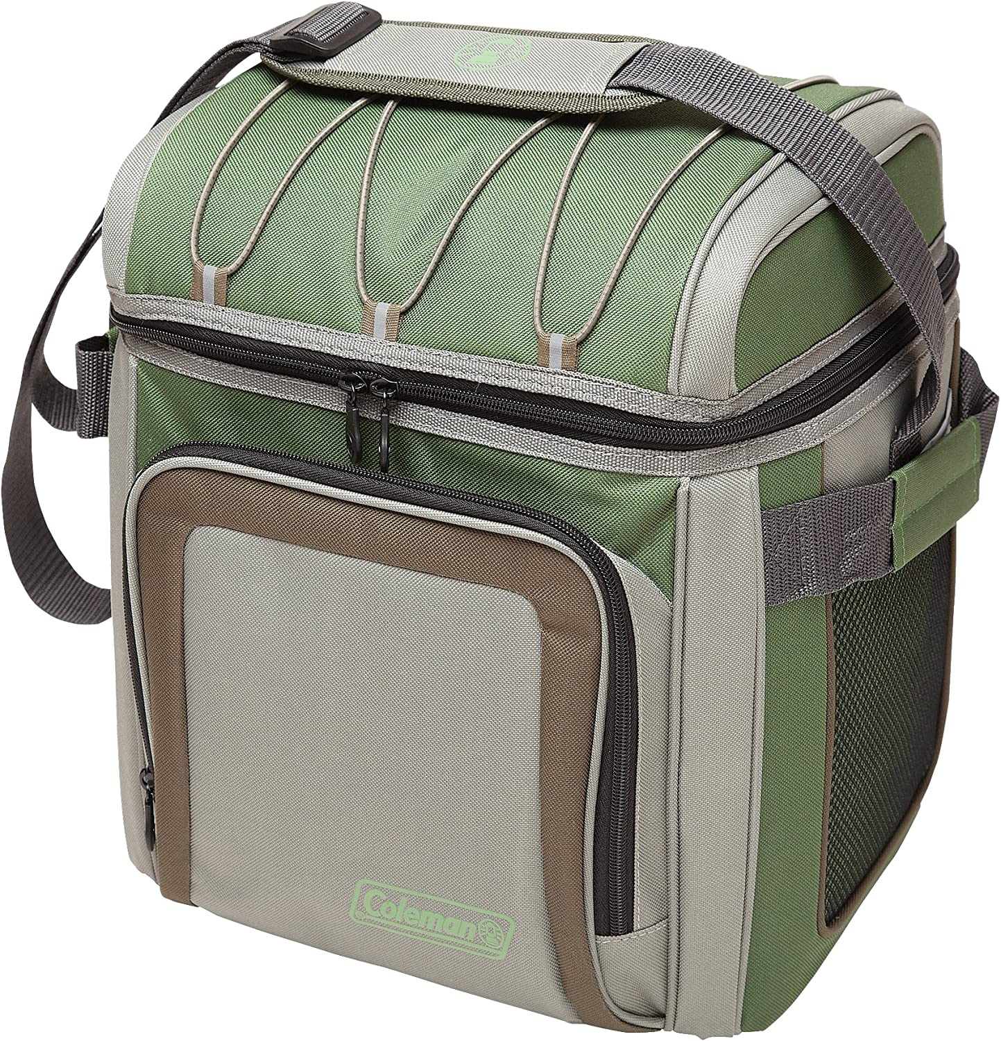 Coleman 30 Can Soft Cooler, Green