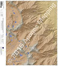 Mount Williamson, California 7.5 Minute Topographic Map - Waterproof Paper
