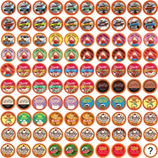 Two Rivers Flavored Coffee Sampler, Compatible with 2.0 Keurig K-Cup Brewers, Variety Pack, 100 Count