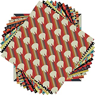 Sugartree 12x12 2 hojas de papel Scrapbooking Fondo De Caballo Marrón