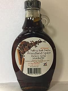 Falling Bark Farm Woodland Spice Hickory Syrup - All Natural from the Shagbark Hickory Tree