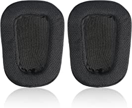 JECOBB Replacement Earpads with Mesh Fabric & Memory Foam Ear Cushion Cover for Logitech G633 G933 Headphone ONLY (Black)