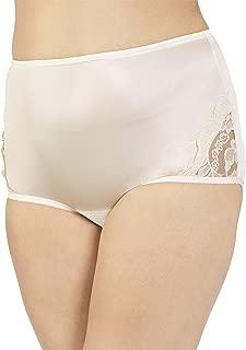 Lace Inset Nylon Panty, 3-pk