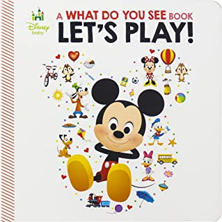 Disney Baby - Let's Play: A What Do You See Book - PI Kids