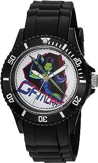 ساعة مارفل غارديان انالوج كوارتز مع حزام بلاستيكي، اسود، 23 - WMA000112