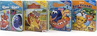 Disney Friends Lion King, Nemo, Dory, and More! - 4-Book Little First Look and Find Set - PI Kids