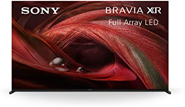 تلویزیون سونی X95J 75 اینچ: BRAVIA XR Full Array LED 4K Ultra HD تلویزیون هوشمند Google با Dolby Vision HDR و سازگاری Alexa XR75X95J- 2021