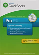 Intuit QuickBooks Pro 2016 Small Business Accounting Software Retail 1 User Boxed Version For Windows 7, 8, 10