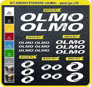 031 ROSSO KIT ADESIVI STRICKERS Strisce adesive interno cerchi ruote CBR 600 750 1000 1100 RACING cod 1218