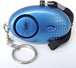 Minder® 140db Police Approved Mini Minder Loud Personal Staff Panic Rape Attack Safety Security Alarm Keyring with Torch - Secured by Design Approved (Police Preferred Specification) (Blue)