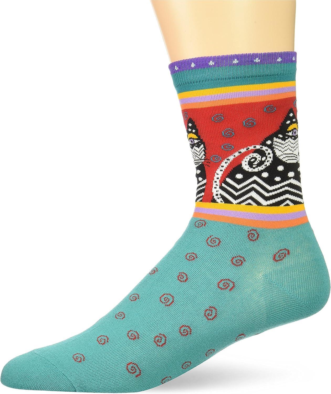 Laurel Burch Wild Flower Crew Socks LBWF17H002-01