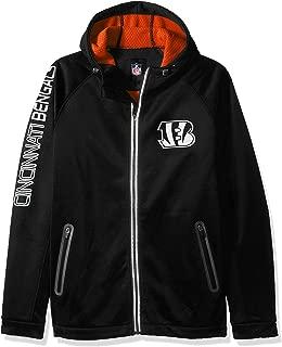 G-III Men's Motion Full Zip Hooded Jacket, Black, 3X
