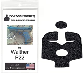 Tractiongrips rubber grip tape overlay for Walther P22 pistols