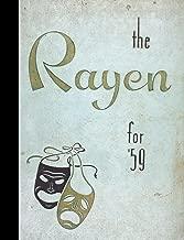 (Reprint) 1959 Yearbook: Rayen School, Youngstown, Ohio