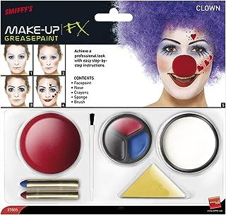 Smiffy's Men's Clown Make-Up Kit