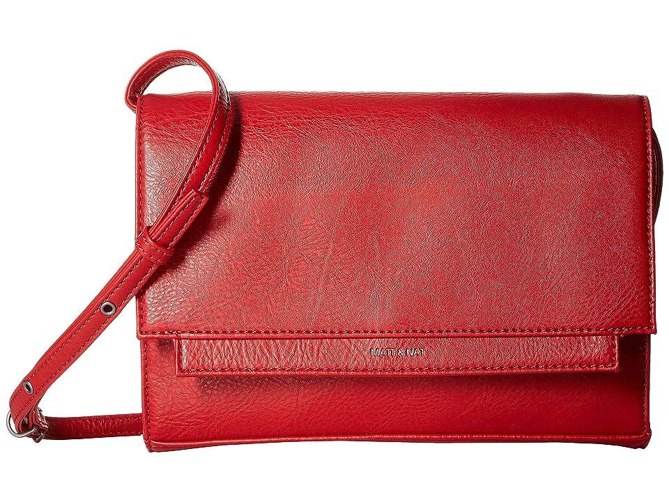 Matt & Nat Dwell Silvi (Red) Handbags