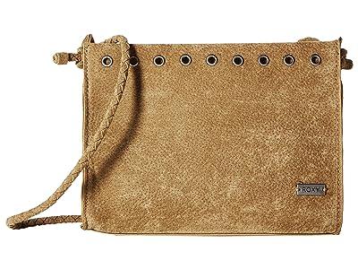 Roxy Believe Me Small Crossbody (Taupe) Cross Body Handbags